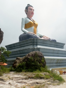Giant Buddha Bokor Mountain Cambodia