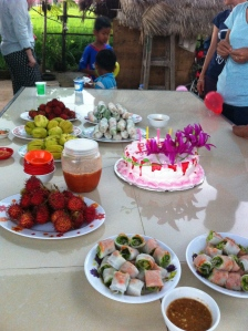 cambodian birthday party