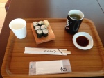 sushi at Haneda Airport