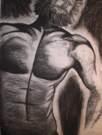 40x60 charcoal male
