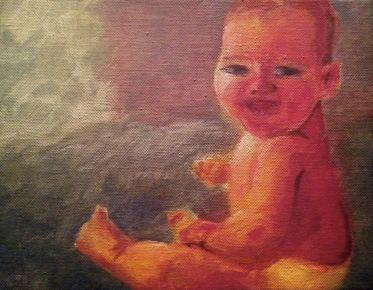 Baby Jack - oil on canvas