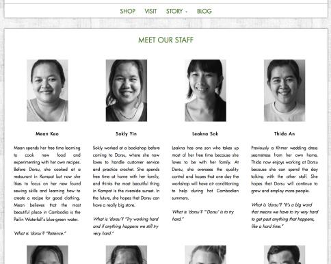 Dorsu Cambodia: Web Design (www.dorsu.org)