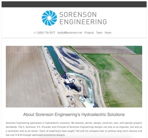 Sorenson Engineering, Inc. (http://www.sorensonengineeringinc.com)