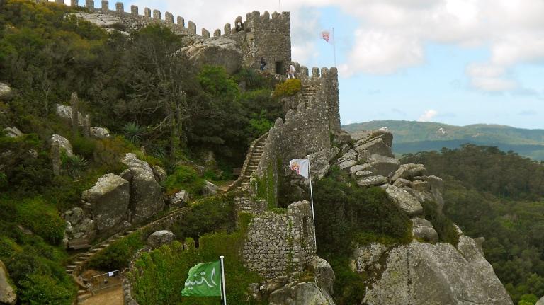 moorish castles portugal sintra