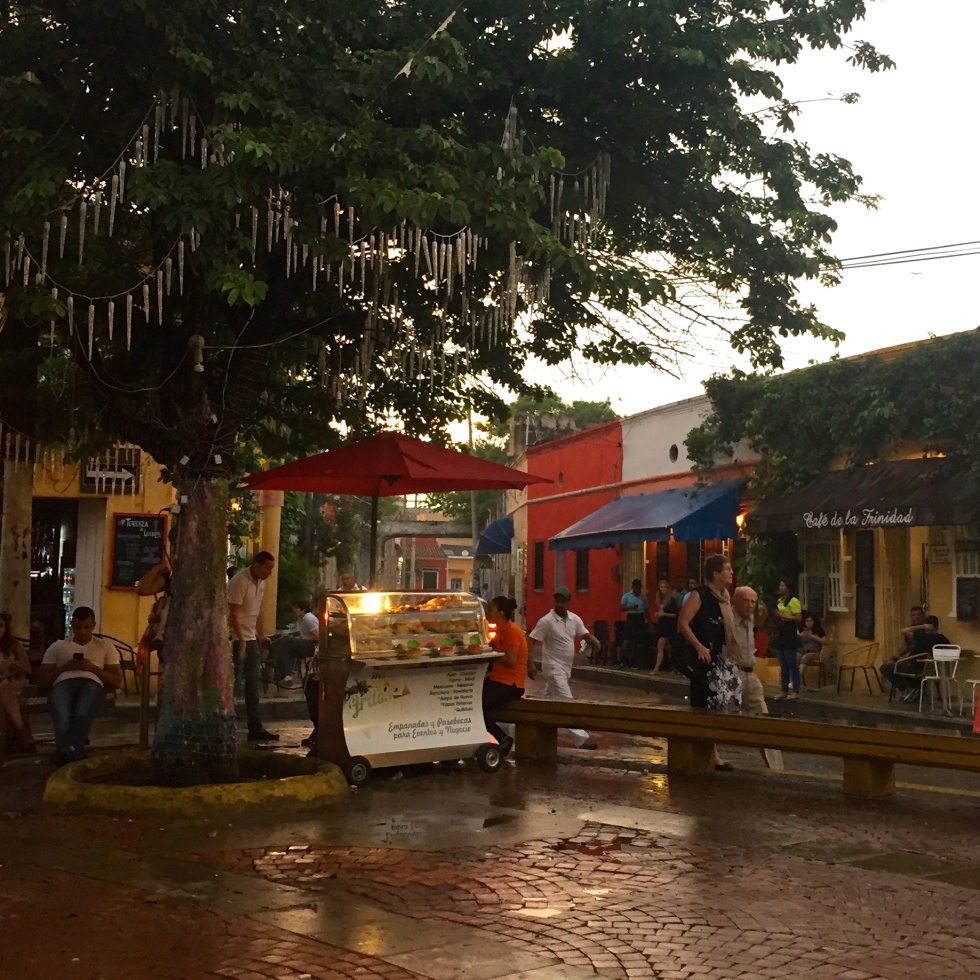 Getsemani Plaza, Cartagena