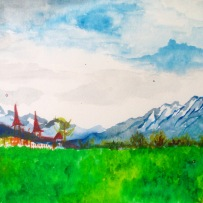 Interlaken - watercolor